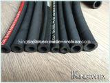 Boyau quatre/six synthétique résistant de pétrole de tresse de fil d'acier à haute limite élastique de qualité (SAE 100r13)