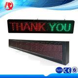 カスタマイズされたP10の赤くか青か黄色か緑または青の屋外LEDの印のボードのLED表示