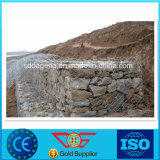 Engranzamento sextavado Twisted Gabion do dobro
