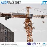 Ausgezeichneter Eingabe-Turmkran China-Tc5013 6t für Aufbau-Maschinerie