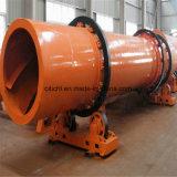 Secador giratório de grande capacidade para o concentrado Titanium, carvão