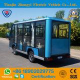세륨과 SGS 증명서를 가진 Zhongyi 상표 11 시트 고품질 배터리 전원을 사용하는 전기 관광 차