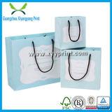 ハンドルが付いているカスタム結婚式の紙袋の絹のギフト袋