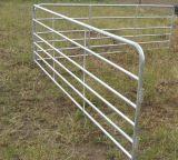 畜産場の塀のための鋼鉄によって電流を通される牛パネル
