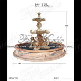 Sunset Red Marble Animal Fountain for Craft Mf-368