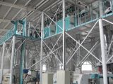 фабрика стана ролика муки маиса 100t/D в Африке