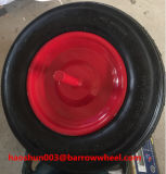 350-8 rotella di gomma dell'aria con l'asse per la riga della barra di rotella