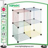 Quatro Cubos de armazenamento do fio de Empilhamento Cube