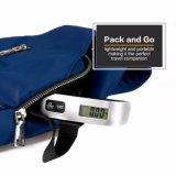Hostweight 50kg 휴대용 디지털 소형 여행 전자 수화물 무게를 다는 가늠자