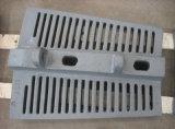 Doublures de moulin de bâti d'acier allié pour pour le broyeur à boulets et le moulin d'AG/Sag