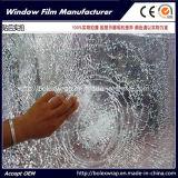 Pellicola trasparente della finestra di vendita 2mil della fabbrica, pellicola protettiva di protezione e sicurezza