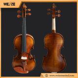 Lo stile lucido Handmade della Germania ha fiammeggiato il violino per uso del livello di entrata