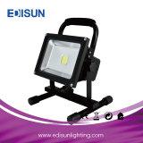 Luz de inundación al aire libre Emergency del trabajo LED de la batería recargable 5W 10W 20W