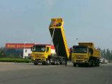 반 Sinotruk HOWO 덤프 트럭 트레일러 또는 팁 주는 사람 트럭