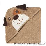 De Katoenen van de bevordering Dierlijke Badhanddoek Met een kap van het Ontwerp voor Baby /Kid
