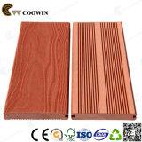 Plataforma composta plástica de madeira de grande resistência do Decking contínuo de WPC
