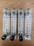 パネル取り付けのロタメーター- N2、H2、酸素、空気および水のための流量計