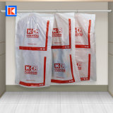 도매 청결한 LDPE 주문 인쇄 세탁물 회전 의복 많은 부대