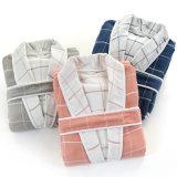 100%年の綿の極度の柔らかいローブによってはパジャマが家へ帰る