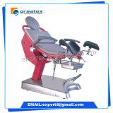 Cadeira de ginecologia elétrica multifuncional ajustable no hospital