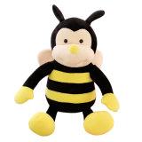 ICTI에 의하여 감사되는 공장 주문 꿀벌 견면 벨벳 장난감