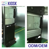 Напольный LCD рекламируя индикацию экрана касания цифров