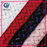 Vestito di nylon dal cotone che fa il tessuto del merletto di stirata