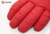 Нагрев электрическим током перчаток лыжи зимы напольный роскошный, водоустойчиво, анти--ветер и анти--холодные перчатки