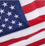 L'abitudine S.U.A. Appliqued la bandierina, bandierina ricamata S.U.A. (B-NF05F06003)