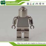 Movimentação instantânea dada forma robô de venda quente da pena do USB da vara do USB do metal