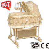 Neue Entwurfs-Baby-Korbwiege mit Cer-Bescheinigung (Ca-Bba110)