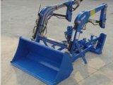 Compact Mini Tractor pala trasera aprobado por Ce