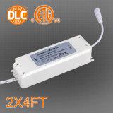 Beste verkaufen2*4ft quadratische LED Panel-Lampe mit konkurrenzfähigem Preis