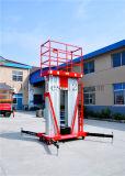elevador de aluminio de la elevación del trabajo aéreo 8meters telescópico (GTWY8-200S)