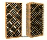 Стеллажи для выставки товаров вина ящика диаманта модульные с Stackable