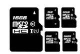 Micro scheda di memoria Flash di deviazione standard di piena capacità
