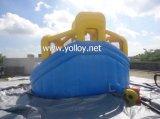 De opblaasbare Dia van het Water met Pool