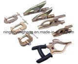 G datilografa o ferro da braçadeira da terra/bronze 300/500/700A (CBM-E24)