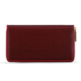 2017 Hot Selling Red Ladies Wallet Purse Mulheres Carteira Longa com Compartimento com Zíper Senhoras Hand Purse