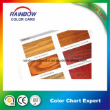 Carte de couleur de laque de meubles pour la peinture en bois