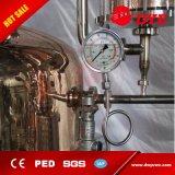 Crisol de cobre de destilación del alcohol del acero inoxidable de la calidad aún