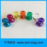 Ímã transparente do Pin do impulso do Neodymium da cor da alta qualidade quente da venda