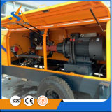 Bomba concreta do reboque hidráulico do motor Diesel