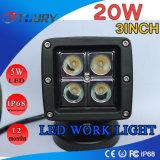 Luz de trabajo de 20W LED para el coche