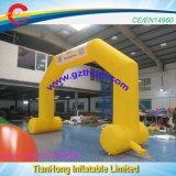 Voûte gonflable jaune/voûte d'événement à vendre