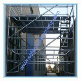 Échafaudage d'ensemble approuvé de Layher de la CE pour la construction