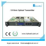 14dBm CATV Transmisor óptico 1310 nm Rack 1U con