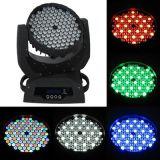 108*3W LEDの洗浄移動ヘッド軽い段階の照明