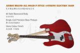 Покрасьте баса тела 4-String Lindenwood типа p твердого электрического для сбывания