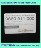 Plastikgeschenk-Karte RFID 125kHz für Vereinsmitglied-Zugriff mit volle Farben-Drucken